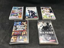 Sony PSP , lot de cinq boîtes DE jeux vides Manque la notice DE FIFA 2010