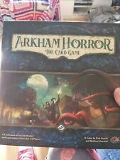 Arkham Horror: The Card Game core set only- sorry for confusing previous title