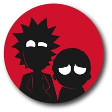 RICK AND MORTY ADULT SWIM DECAL STICKER NOVELTY 3.5""