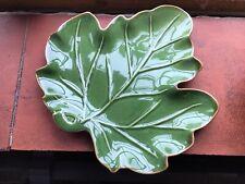 More details for oka green vine leaf side plates
