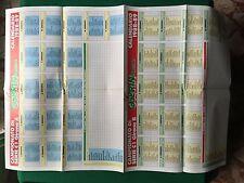 (AF92) POSTER 82x54 cm CALENDARIO PARTITE 1988-89 SERIE C1 C2 , Guerin Sportivo