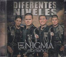 Enigma Norteño Diferentes Niveles CD New Nuevo Sealed