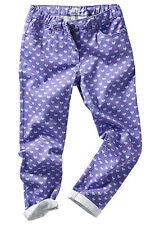 H/&m strech Pantaloni Tessuto twillhose SLIM SKINNY Rosé 134 140 152 158 164
