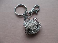"""""""Hello kitty"""" swarovsky  key chain  ♥"""