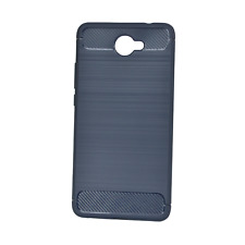 Phone Case for Huawei Ascend XT2  - INNACASE Brushed Carbon - Navy Blue