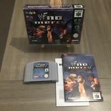 WWF No Mercy pour Nintendo 64 (CIB)