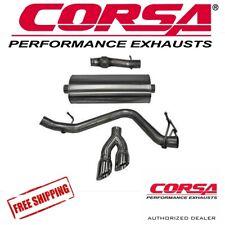 "CORSA 3.0"" Cat Back Single Exhaust Kit For 2014-2018 GMC Sierra 1500 RC/SB 5.3L"