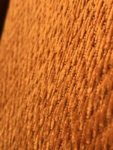 Mid Century Modern High Quality Chenille Orange Upholstery Fabric By The Yard