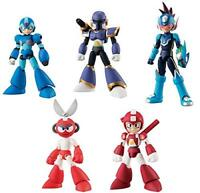 Bandai 66 Action Dash Rockman 2 Action Figure Full Set of 5 w/ Tracking NEW