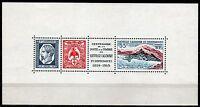 1242 - Nuova Caledonia - Foglietto Centenario francobollo, 1959 - Nuovo (** MNH)