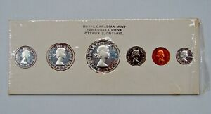 Canada - 1960 - 6-Coin Proof-like Mint Set - In Original Card Holder