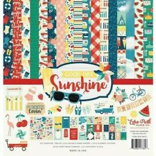 Good Day Sunshine Summer Vacation Sun Play Echo Park Scrapbook Page Kit 12 x 12
