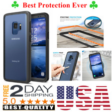 For Samsung Galaxy S9 Case Hybrid Heavy Duty TPU Bumper Phone Cover Clear Back