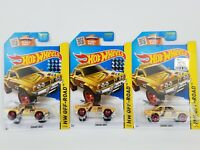 Hot Wheels Subaru Brat car lot of 3 Factory Sealed 2016 set sticker