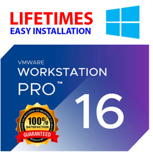 VMware Workstation 16 Pro [LICENSE KEY]