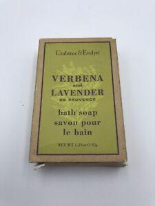 CRABTREE & EVELYN VERBENA LAVENDER SOAPS 1.25oz 35g