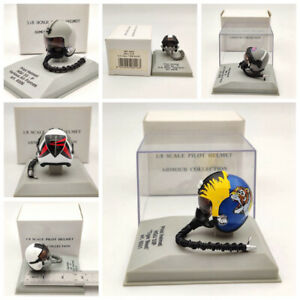 CDC Armour 1:8 Scale Pilot Helmet HGU 26P/55P/33P/MK 10/Gueneau 316/APH 6B Model