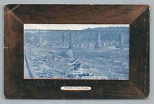 Railroad Bridge TROIS PISTOLES Quebec—Antique CPA Postcard 1910