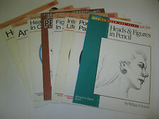 Rare Walter Foster Art Books How to Draw & Paint Portraits & Figure choose your#