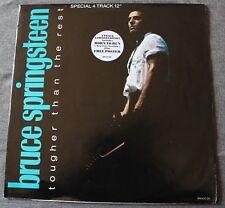 Bruce Springsteen, tougher than the rest, Maxi Vinyl  pochette poster