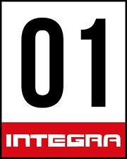 "ACURA HONDA INTEGRA Racing Door Sticker Decal NO GOOD RACING KANJO OSAKA 12X15"""