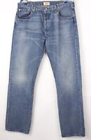 Levi's Strauss & Co Hommes 501 Jeans Jambe Droite Taille W36 L34 BBZ252