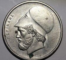 PERICLES Piece de monnaie 20 DRACHMES DRACHMAI Drachma GRECE GREECE  ge02