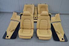Ferrari 456 M GT Leder Sitze Innenausstattung Lederausstattung Seats Seat Beige