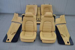 Ferrari 456 M Gt Leather Seats Interior Leather Trim Seats Seat Beige