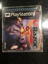 Razor Racing Ps1 PlayStation 1Black Label Brand new Factory Sealed