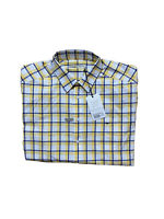 NWT R.M. Williams Mens Size 2XL Hervey Button Up Collared Shirt Checked RRP$89