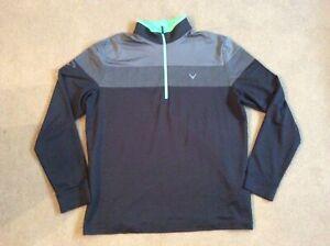 Callaway Golf men's 1/4 zip jumper size medium