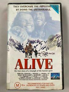 ALIVE VHS RARE