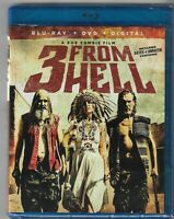 3 from Hell (Blu-ray / DVD, 2019) Brand New Sealed Bill Moseley, Danny Trejo