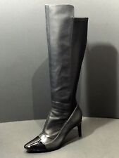 Calvin Klein Janalee Pointed Toe Leather  Over the Knee Women Boot Size US 8.5 M