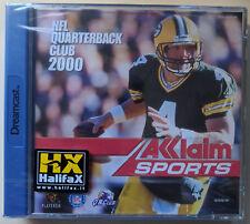 NFL QUARTERBACK CLUB 2000 - SEGA DREAMCAST GAME - PAL - BRAND NEW SEALED