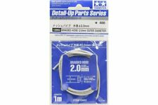 TAMIYA 12662 1/12 Durite -  Braided Hose 2.0mm Outer Diameter
