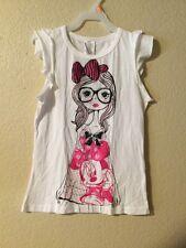 Disney Minnie & Friend T SHIRT GIRLS White Color SIZE L(10/12)