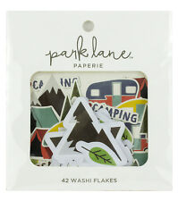 Park Lane Washi Flakes 42/Pkg-Camping 15965080 NEW