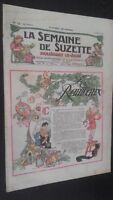 Revista Dibujada La Semana De Suzette que Aparecen El Jueves 1929 N º 12 ABE