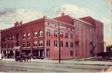BURLINGTON, VT The Strong. housing theatre and hardware store 1910