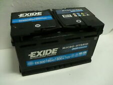 EXIDE  EK 800 Batterie 12V 80Ah 800A (EN) 315*175*190 mm