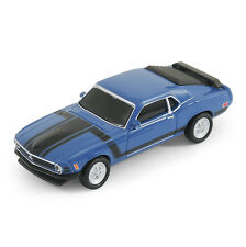 Ford Mustang Boss 302 Coche Usb Flash Memory Stick Pen Drive 8 Gb-Azul