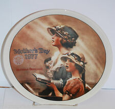 """""""Faith"""" 1977 Mother's Day Collector Plate by Norman Rockwell"""