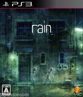 Used PS3 Rain  SONY PLAYSTATION 3 JAPAN JAPANESE IMPORT