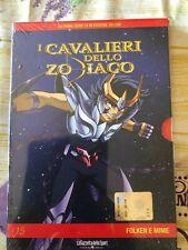 DVD N°15 I CAVALIERI DELLO ZODIACO - FOLKEN E MIME -  NUOVO