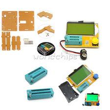 Digital 12864 Lcd Lcr T4 Atmega328 Transistor Tester Capacity Esr Metercase