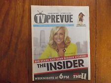 Oct-2008 Chicago Sun-Times TV Prevue Mag(LARA  SPENCER/DEBRA MESSING/THE INSIDER