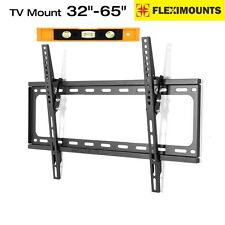 "Tilt LCD LED ultra HD TV Wall Mount Bracket 32"" 37 39"" 40"" 42 46 50"" 55"" 60"" 65"""