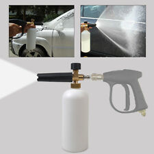 Hot Sale Adjustable Snow Foam Lance Car Washer Soap 1L Bottle Car Wash Gun 1/4